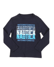 Nautica - Long Sleeve Graphic Tee (4-7)-2381504