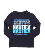 Nautica - Long Sleeve Graphic Tee (2T-4T)-2381495