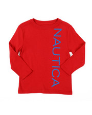 Nautica - Long Sleeve Graphic Tee (2T-4T)-2381643