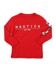 Nautica - Long Sleeve Graphic Tee (2T-4T)-2381647