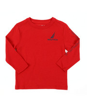 Nautica - Long Sleeve Graphic Tee (2T-4T)-2381665