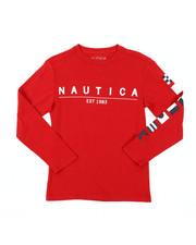 Nautica - Long Sleeve Graphic Tee (8-20)-2381564