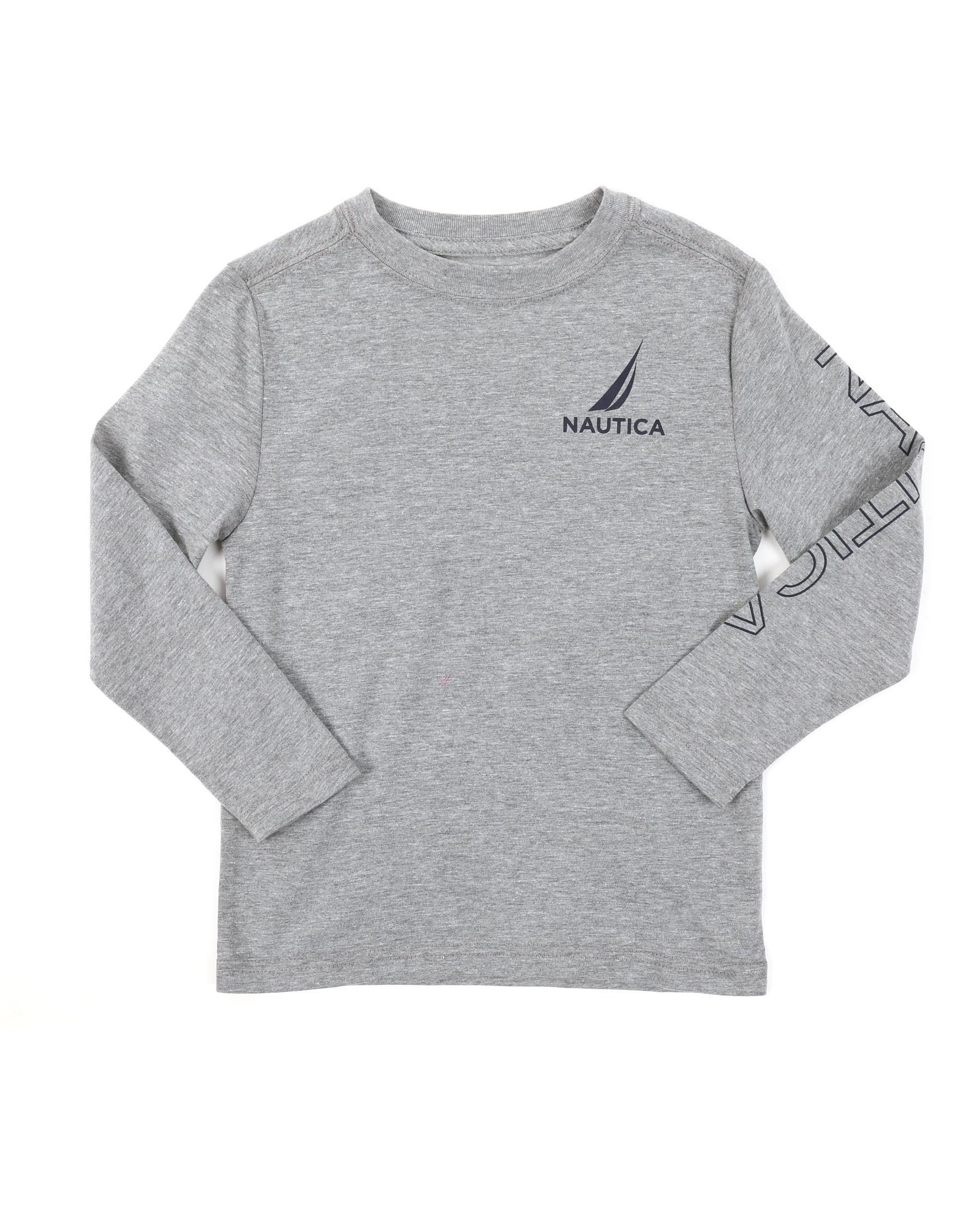 8f35112d63 Buy Long Sleeve Graphic Tee (4-7) Boys Tops from Nautica. Find ...
