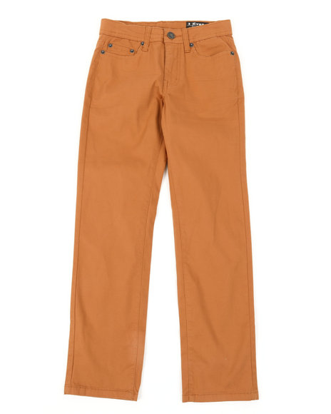 Buffalo - 5 Pocket Stretch Twill Pants W/ 3D Whiskers (8-16)