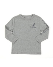 Nautica - Long Sleeve Graphic Tee (2T-4T)-2381684