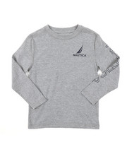 Nautica - Long Sleeve Graphic Tee (4-7)-2381679