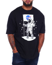 Big & Tall - Nasa Foil Print S/S Tee (B&T)-2382563