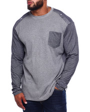 Buyers Picks - Thermal Henley Yard Dyed Jersey Sleeves (B&T)-2382764