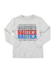 Nautica - Long Sleeve Graphic Tee (4-7)-2382183