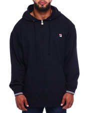 Fila - Zip Hood Left Chest Logo (B&T)-2382734