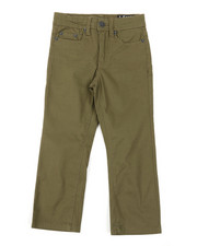 Buffalo - 5 Pkt Stretch Twill Pants W/3D Whiskers (4-7)-2382258