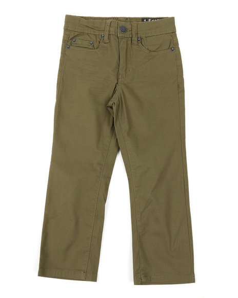 Buffalo - 5 Pkt Stretch Twill Pants W/3D Whiskers (4-7)
