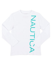 Nautica - Long Sleeve Graphic Tee (8-20)-2381549