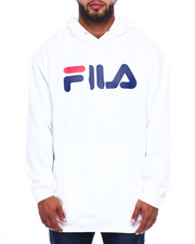 Fila - Pockets Pullover Hoodie (B&T)-2382659