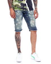 Shorts - BLEACH SPLATTER DENIM SHORT-2372480