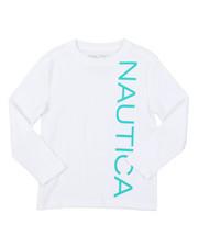 Nautica - Long Sleeve Graphic Tee (4-7)-2381539