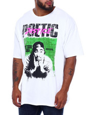 C-LIFE GROUP LTD - Poetic Justice Lucky Kinda Feel Lonely S/S Tee (B&T)-2382425