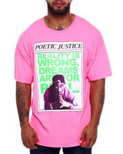 Shirts - Poetic Justice Reality Is Wrong Dreams S/S Tee (B&T)-2382433