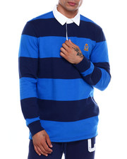 Chaps - CLASSIC STRIPE RUGBY SHIRT-2382545