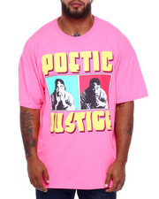 C-LIFE GROUP LTD - Poetic Justice S/S Tee (B&T)-2382429