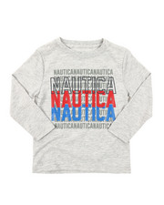 Nautica - Long Sleeve Graphic Tee (2T-4T)-2381984