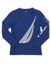 Nautica - Long Sleeve Graphic Tee (8-20)-2381771