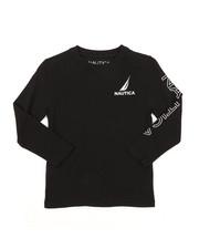 Nautica - Long Sleeve Graphic Tee (4-7)-2382188