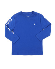 Nautica - Long Sleeve V-Neck Tee (2T-4T)-2381714