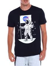 Akademiks - ASTRO NASA FOIL PRINT MOON MAN TEE-2382895