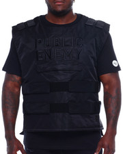 Outerwear - Makobi Public Enemy Vest (B&T)-2371600