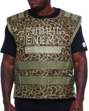 Outerwear - Makobi Public Enemy Vest (B&T)-2371610