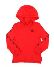 Adidas - Hooded Linear Tee (2T-7)-2382791
