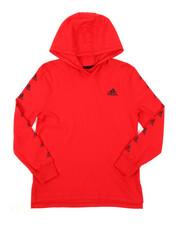 Adidas - Hooded Linear Tee (8-20)-2382824
