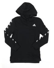 Adidas - Hooded Linear Tee (8-20)-2382875