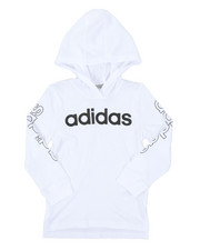Adidas - Hooded Linear Tee (2T-4T)-2383400