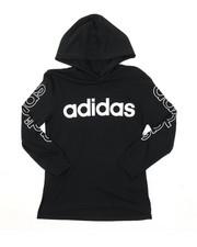Adidas - Hooded Linear Tee (8-20)-2383476