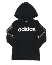 Adidas - Hooded Linear Tee (2T-4T)-2383462
