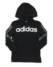 Adidas - Hooded Linear Tee (4-7)-2383465