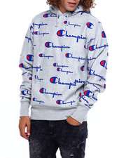 Champion - REVERSE WEAVE PULLOVER HOODIE AOP-2383486
