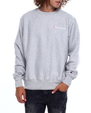 Champion - REVERSE WEAVE CHEST SCRIPT CREWNECK SWEATSHIRT-2383457