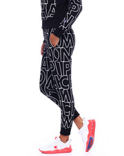 Sweatpants - Reverse Weave Jogger-All Over Print-2383661