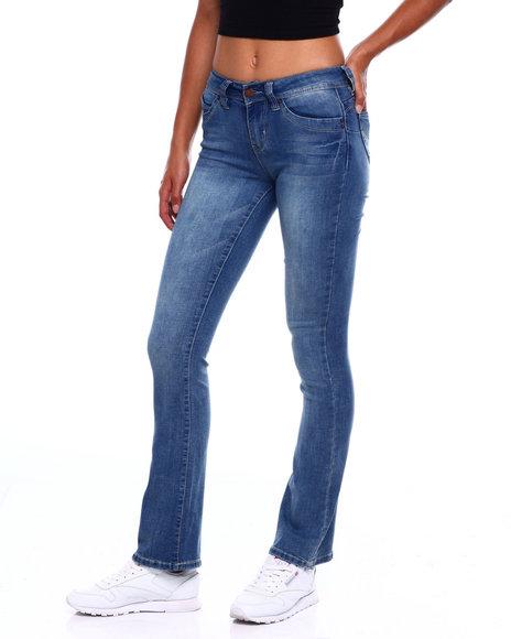 YMI Jeans - Boot Cut Distressed 5 Pkt Jean