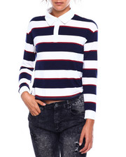 Almost Famous - Rugby Striped Top-2384005