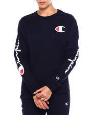 "Champion - The Original Tee-Left Chest ""C"" & Sleeve Scripts-2383764"