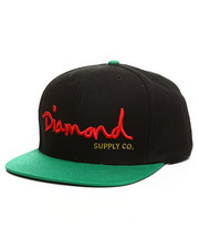 Diamond Supply Co - OG Logo Script Snapback Hat-2383363