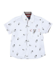 Arcade Styles - Astronaut All Over Print Woven Shirt (2T-4T)-2384032