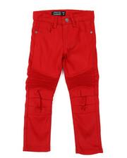 Arcade Styles - Stretch Skinny Moto Pants (4-7)-2384092