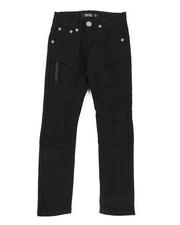 Arcade Styles - Stretch Embossed Bull Denim Jeans (8-18)-2384415