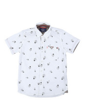 Arcade Styles - Astronaut All Over Print Woven Shirt (8-18)-2384050