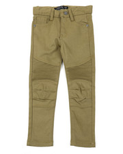 Arcade Styles - Stretch Skinny Moto Pants (4-7)-2384103